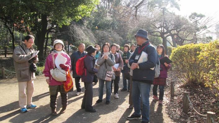 善福寺上の池 樹木観察会